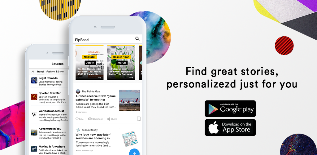 PipFeed: read everything interesting.